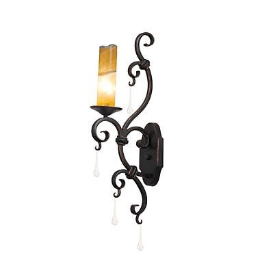 Kalco Palladium 1-Light Wall Sconce