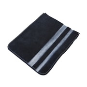 Mulholland Brothers High and Mighty iPad Sleeve; Black / White Stripes