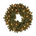 National Tree Co. Noble Deluxe Fir Pre-Lit 24'' Wreath