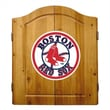 Imperial MLB Team Logo Complete Dart Cabinet Set; Boston Red Sox