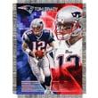 Northwest Co. NFL Tom Brady Player Polyester Throw Blanket