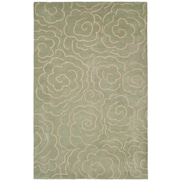 Safavieh Soho Soft Light Blue/Ivory Area Rug; 7'6'' x 9'6''