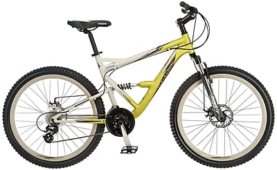 Mongoose Men's Status Hybrid Bike