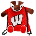 Forever Collectibles Pal Backpack; Wisconsin