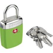 Go Travel Travel Sentry Alert Pad Lock; Glo Green