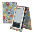 Hadaki E-Book Wrap in Floral Swirl; Jazz Ruby