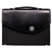 Aaron Irvin Textured Laptop Briefcase