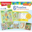 MasterPieces Highlights Activity Book 12 Piece Jigsaw Puzzle (Set of 6)