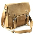 Vagabond Traveler Messenger Bag; Nature Brown