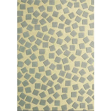 Jovi Home Dispersion Green Area Rug; 4' x 6'