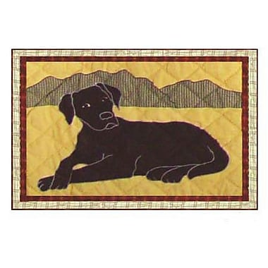 Patch Magic Black Lab Placemat (Set of 4)