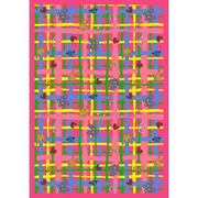 Joy Carpets Just for Kids My Little Princess Pink Area Rug; 7'8'' x 10'9''