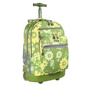 J World Sundance Flower Rolling Laptop Backpack