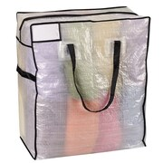 Household Essentials Storage and Organization Medium Tote Bag with Trim