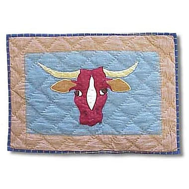 Patch Magic Cowboy Long Horn Placemat (Set of 4)