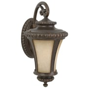 Jeremiah Prescott 1 Light Outdoor Wall Lantern; Medium