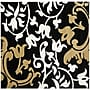 Safavieh Soho Black/Multi Rug; Square 6' x 6'