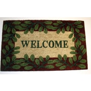 Geo Crafts Welcome 2 Printed Doormat