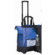 Preferred Nation On The Go Rolling Shopping Tote; Blue