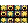Fun Rugs Smiley World Happy and Smiling Yellow