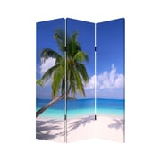 Screen Gems 71'' x 47'' Paradise Screen 3 Panel Room Divider