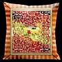 Lama Kasso Como Gardens Square Micro Suede Pillow
