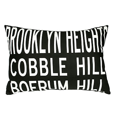 Uptown Artworks Brooklyn Heights Lumbar Pillow