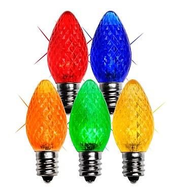 Wintergreen Lighting 0.96W 130-Volt LED Light Bulb (Pack of 25); Multicolor