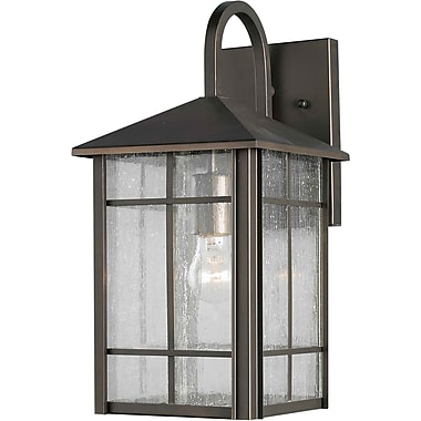 Forte Lighting 1 Light Outdoor Wall Lantern; 14.5'' H x 7'' W x 8.5'' D