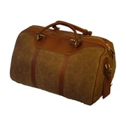 Mulholland Brothers Waxed Canvas Hippo Travel Duffel