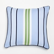 Whistle and Wink Stars and Stripes Preppy Stripe Cotton Throw Pillow