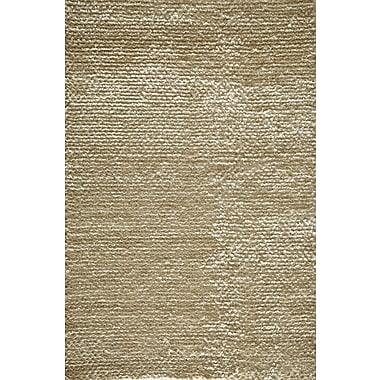 Momeni Downtown Hand-Woven White Area Rug; 3'6'' x 5'6''