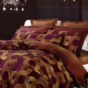 Dolce Mela Dolce Mela Spicy Mix 6 Piece Duvet Cover Set; King