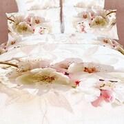 Dolce Mela Dolce Mela Apple Blossom 6 Piece Duvet Cover Set; King