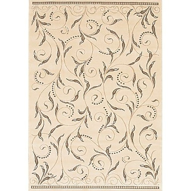 Chandra Rita Natural Area Rug; 1'11'' x 3'7''