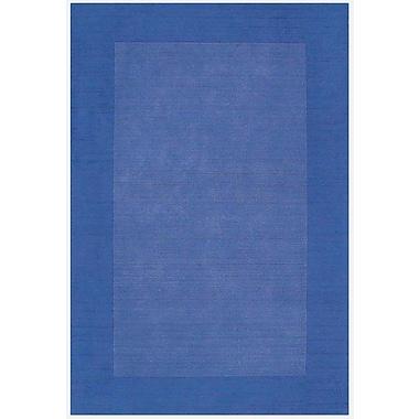 Acura Rugs Loom Blue/Dark Blue Rug; 8' x 10'6''