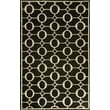 Liora Manne Spello Arabesque Midnight Outdoor Rug; 7'6'' x 9'6''