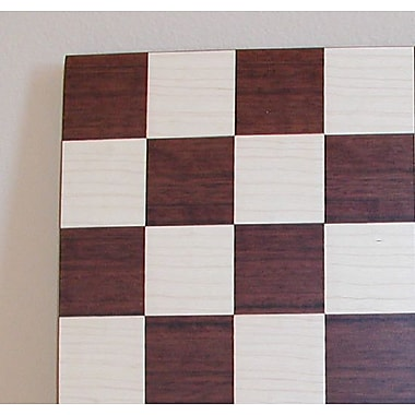 Ferrer 14'' Veneer Chess Board in Dark Rosewood