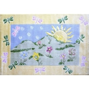 Fun Rugs Jade Reynolds Dragonfly Morning Kids Rug; 3'3'' x 4'10''