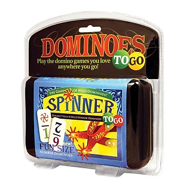 Puremco Dominoes Spinner  Number Dominoes To Go