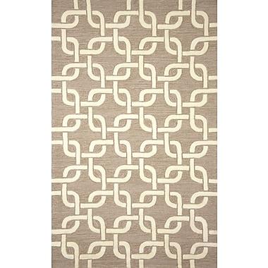 Liora Manne Spello Chains Natural Outdoor Area Rug; 3'6'' x 5'6''