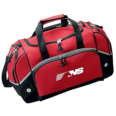 Preferred Nation 20.5'' The Sportsline Gym Duffel; Red