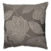 Pillow Perfect Beatrice Jute Polyester Throw Pillow; 18'' W x 18'' D
