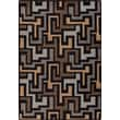Milliken Mix and Mingle Black Label Junctions Rug; 2'8'' x 3'10''