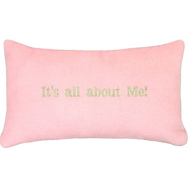 123 Creations It's All about Me Wool Lumbar Throw Pillow