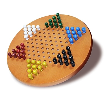 Wood Expressions 11'' Chinese Checkers Set