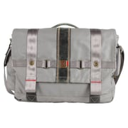 FUL Red Label Messenger Bag; Grey