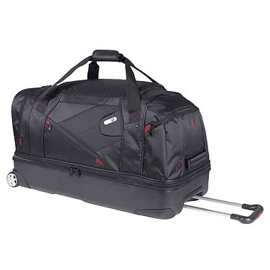 FUL Hybrid 30'' Wheeled Duffel 8130; Black Red