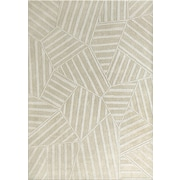 Jovi Home Puzzle White Area Rug; 5'4'' x 7'6''