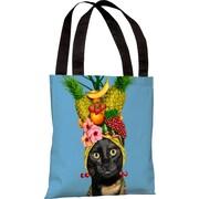 One Bella Casa Pets Rock Fruit Tote Bag